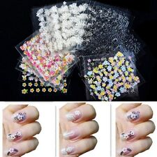 3D Design Decal Stickers 30 Sheets /50 Sheets Colorful Nail Art Manicure VGY01