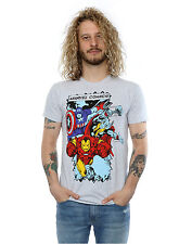 Marvel Men's Comic Characters T-Shirt