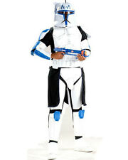 Star Wars Clone Wars Clone Trooper Deluxe Captain Rex Adult Costume