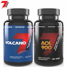 VOLCANO & AOL 900 STRONG LEGAL NURITION TESTOSTERONE BOOSTER & HORMONE STIMULANT