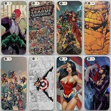 Wonder Woman Catwoman IronMan SpiderMan Style Hard Case For iPhone Samsung Sony