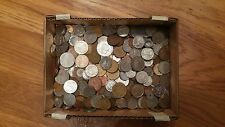 12.4 LBS  - World Coin Lot of Miscellaneous Foreign Coins