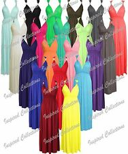 Womens Stretch Plain Ladies Sleeveless Flared Spring Coil Jersey Long Maxi Dress