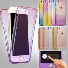 Shockproof 360° Silicone Protective Clear Case Cover For Apple iPhone 6 / 6S/ 7