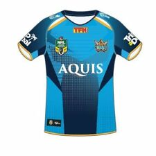 Gold Coast Titans 2017 NRL Mens Home Jersey Shirt BNWT Rugby League Clothing