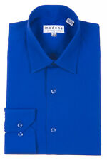 Modena Solid Slim Fit Dress Shirt French Blue