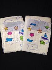 Diappizz Plastic Adult Diaper NEW ABDL IMPORTED Nappy 2 Pack Sample