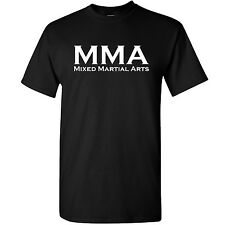 MMA Mixed Martial Arts Mens T Shirt -- Training Top Cage Fighting Clothing