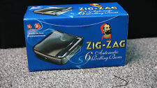 NEW Zig Zag Automatic Cigarette Tobacco Rolling Machine Box Tin New Zigzag