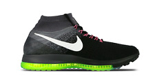 NIB Men's Nike Zoom All Out Flyknit Running Shoes 844134 002 Black/White/Cool G