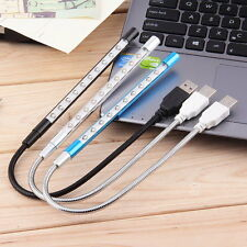 Flexible USB 10LED Lamp Light For Laptop Notebook Computer PC Reading Night ZM