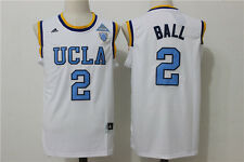 Lonzo Ball UCLA #2 Jersey White Sizes S - 2XL All Stitched
