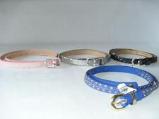 New Girls Belts by Ruum - 2 Styes 4 Colors - Sz: 5-7, 8-14 - NWT ($10.50-14.50)