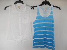 New Women's No Boundaries Tank Tops - 2 Styles! - Sizes M, L - NWOT