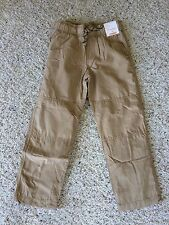 NWT Gymboree Boys Pull on Pants Khakis Jersey Lined Gymster BTS 6,7,8,10