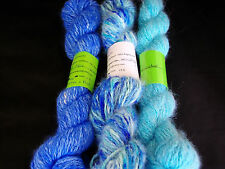 Handspun Angora Yarn Hand dyed 100% Angora Rabbit Yarn 100 worsted