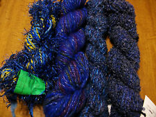 Handpun yarn crazy Art Yarn Hand dyed Angora/ Merino/ Alpaca/ Silk Yarn