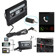 Car Audio Cassette Tape Adapter to Aux Cable 3.5mm Jack for MP3 iPod CD Player