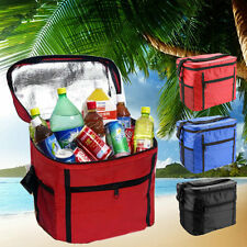 Large Portable Cool Bag Insulated Thermal Cooler For Food Drink Lunch Picnic A5