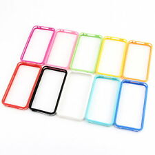 TPU Silicone Frame Bumper Hard Case Cover Skin for iPhone 4G 4S YS