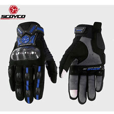 Scoyco Motorcycle Bike Cycling Racing Summer Gloves Windproof Full Finger M L XL