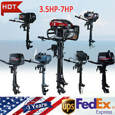 3.5-7HP Superior Engine Power Outboard Motor 2/4 Stroke Boat Engine Propeller US