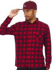 Quiksilver Chilli Pepper Motherfly Flannel Long Sleeved Shirt