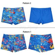 Boys Swim Shorts Swimming Trunks Beach Holiday Board Animal Swimwear Kids 8-14
