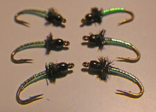 Tungsten Mirage Midge-Pearl/Chart. Fly Fishing Flies Trout Flies NEW 2016