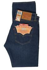 Mens Levis 501 2463 Straight Leg Button Fly Subway Station Blue Jeans