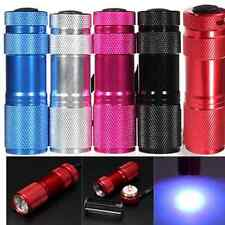MINI 9 LED Ultra UV Blacklight Portable Flashlight Torch Light Lamp Fashionable