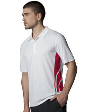 Gamegear KK977 Mens Cooltex Training Polo Knit Collar Lightweight Sports T-shirt