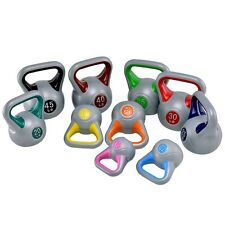 5-45lbs Kettlebell Fitness Exercise Body Weight Gym Workout Strength Training