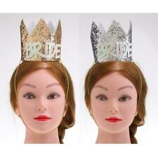 Princess Bridal Tiara Crown Hat Costume Fancy Dress Party Crowns Supplies