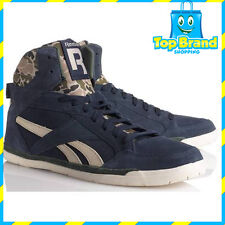 REEBOK womens shoes fashion HI TOPS HIP HOP HIGH TOP CLASSIC BLUE LADIES