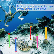 Kids Diving Toys Game Swimming Pool Underwater Fun Game Diving Fun 5Pcs MF