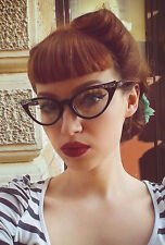 Cat Eye Women Eyeglasses Clear Lens Retro Vintage Designer Fashion Style
