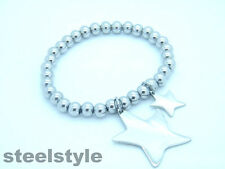 HIGH QUALITY WOMEN'S  CHAIN BRACELET STAINLESS STEEL 316L WITH STAR CHARM