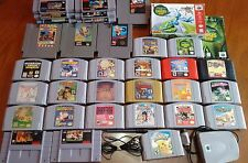 ツREAD! YOU PICK GAMES LOT Nintendo Atari Sega (Min.order $64 including shipping)