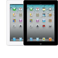 Apple iPad 2nd WiFi + 4G GSM Unlocked AT&T T-Mobile 16GB White Black