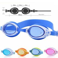 Summer Pool Safety Children Swim Glasses Silicone Kids Anti-fog Swimming Goggles