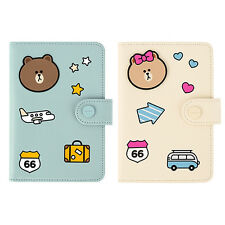 MONOPOLY x LINE FRIENDS Mini Journey No Skimming Passport ID Card Holder Case