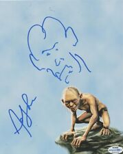 Andy Serkis Autographed Signed 8x10 Photo LOTR Gollum Exact Video Proof
