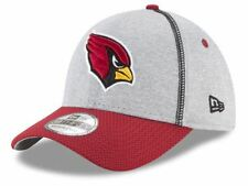 NEW! Arizona Cardinals New Era NFL Gray Stitch Mens Hat Cap - Red, Gray & Black