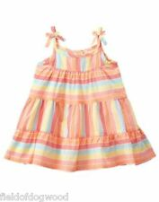 NWT Gymboree Seashore Smiles Striped dress 12 18 24 M Baby girls Toddler