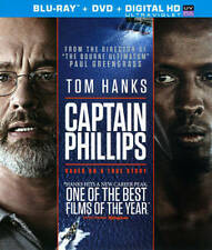 Captain Phillips (Blu-ray/DVD, 2014, 2-Disc Set, Includes Digital Copy Tom Hanks