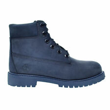 Timberland 6 Inch Dark Blue TB0A171S Junior Boots Shoes