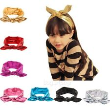 Kids Baby Girl Toddler Solid Headband Hair Band Accessories Headwear For Infant!