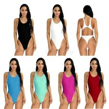One-piece Women Cut Out Bodysuit Leotard Thong Bodysuit Bikini Monokini Swimsuit