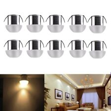 5/10x3W LED Recessed Ceiling Light Light Cabinet Mini Spotlight Downlight Round